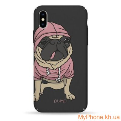 Чехол Pump Tender Touch Case Mops  for iPhone X