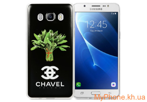 Чехол Avatti B&Z PC Chavel Black для Samsung J5 2016 J510