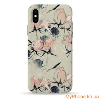 Чехол Pump Plastic Fantastic Case Soft Buds  for iPhone X