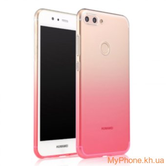 Чехол Glaze TPU HUAWEI P Smart (Enjoy 7S) розовый