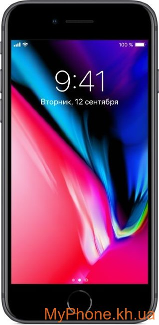 Смартфон Apple iPhone 8 64GB Space Gray (MQ6G2)