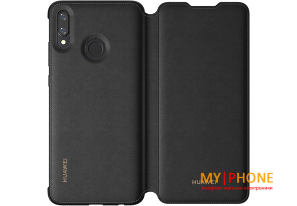 Чехол к телефону Huawei P Smart 2019 Flip Cover Black