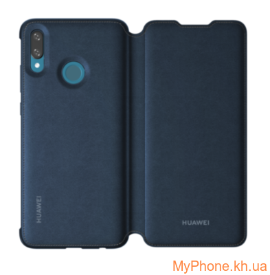 Чехол для Huawei P Smart 2019 flip cover blue