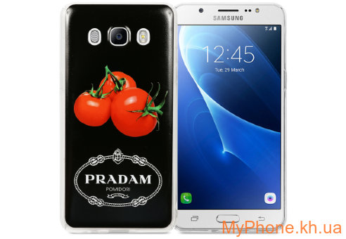Чехол Avatti B&Z PC Pradam Black для Samsung J5 2016 J510