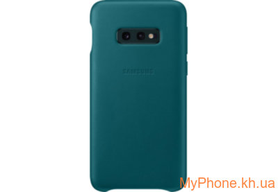 Чехол для телефона Samsung S10e Leather Cover Green EF-VG970LGEGRU