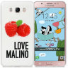 Чехол Avatti B&Z PC Love Malino White для Samsung J7 2016 J710