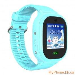 Детские смарт-часы Smart Baby Watch TD-05 AQUA GPS Blue da38b8fd0eea8