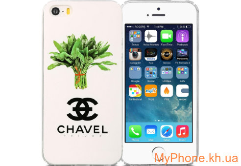 Чехол Avatti B&Z PC Chavel White для iPhone 5/5S/SE