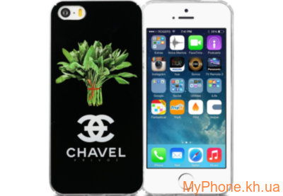 Чехол Avatti B&Z PC Chavel Black для iPhone 5/5S/SE