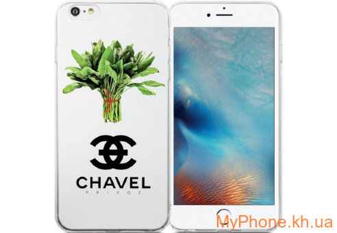 Чехол Avatti B&Z PC Chavel White для iPhone 6/6S Plus