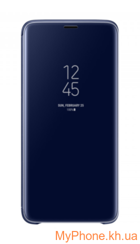 Чехол-книжка Clear S View Standing Cover Samsung Galaxy S9 Plus SM-G965 Blue (EF-ZG965CLEGRU)