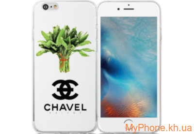 Чехол Avatti B&Z PC Chavel White для iPhone 6/6S