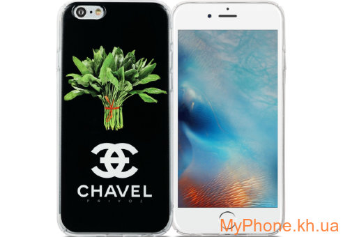 Чехол Avatti B&Z PC Chavel Black для iPhone 6/6S
