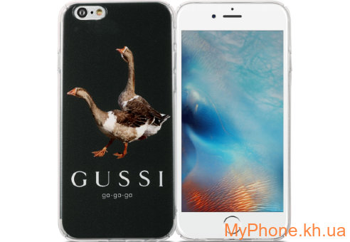 Чехол Avatti B&Z PC Gussi Grey для iPhone 6/6S