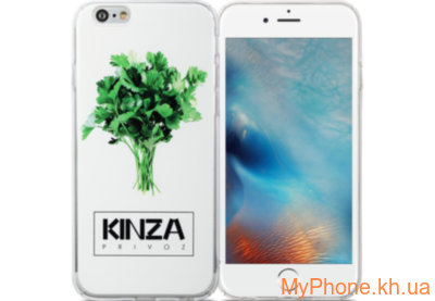 Чехол Avatti B&Z PC Kinza White для iPhone 6/6S
