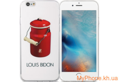 Чехол Avatti B&Z PC Louis Bidon White для iPhone 6/6S
