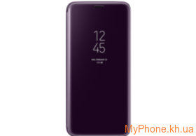 Чехол Samsung для Galaxy S9 G960 Clear View Standing Cover Orchid Gray