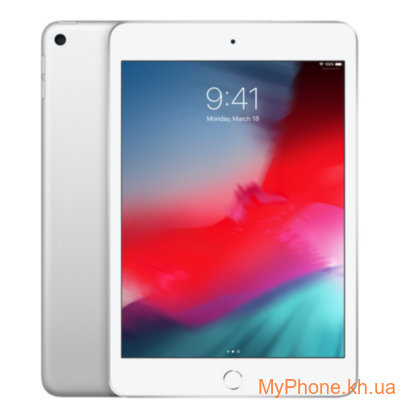 Планшет Apple iPad mini 5 Wi-Fi + 4G 256GB Silver (MUXN2, MUXD2)