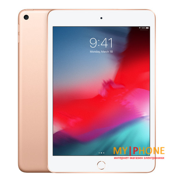 Планшет Apple iPad mini 5 Wi-Fi + Cellular 256GB Gold (MUXP2, MUXE2)