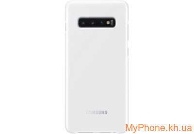 Чехол для телефона Samsung S10 Plus LED White EF-KG975CWEGRU