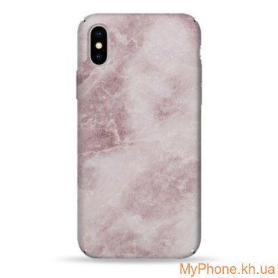 Чехол Pump Plastic Fantastic Case Shine Pink for iPhone X
